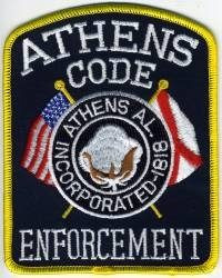 AL,Athens Police Code Enforcement001