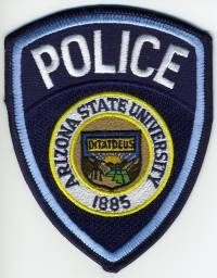 AZ,Arizona State University Police003