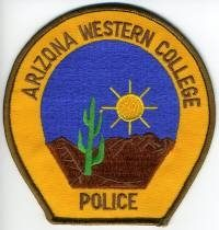 AZ,Arizona Western College Police001