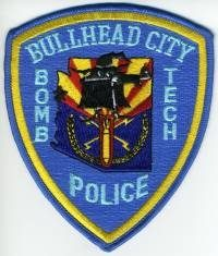 AZ,Bullhead City Police Bomb Tech001