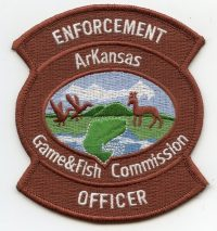 AR,AA,Game and Fish Commission Enforcement Officer001