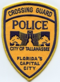 FL,Tallahassee Police Crossing Guard001