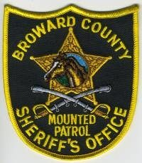 FL,A,Broward County Sheriff Mounted027