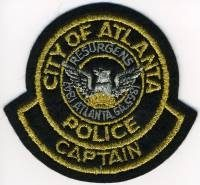 GA,ATLANTA Police Captain001