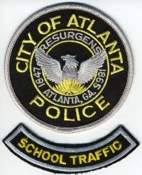 GA,ATLANTA School Traffic001