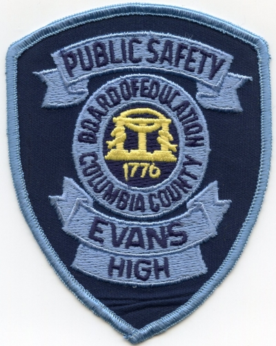 GA,Columbia County Campus Police Evans High001