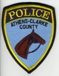 GA,Athens Clarke County Police Mounted005