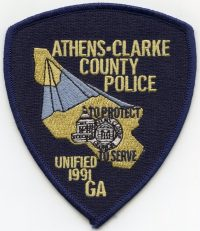 GA,Athens Clarke County Police005