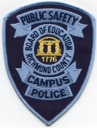 GA,Richmond County Board of Education Police003