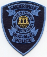GA,Washington County Board of Education Police001