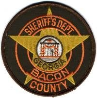 GA,A,Bacon County Sheriff001