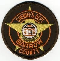 GA,A,Barrow County Sheriff001