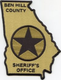 GA,A,Ben Hill County Sheriff001