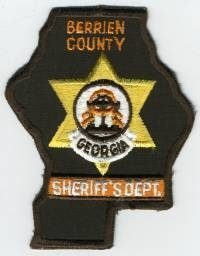 GA,A,Berrien County Sheriff001