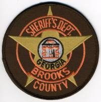 GA,A,Brooks County Sheriff001