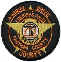 GA,A,Chatham County Sheriff 4 Wheel Drive Posse001