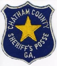 GA,A,Chatham County Sheriff Posse001