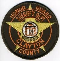 GA,A,Clayton County Sheriff Honor Guard001