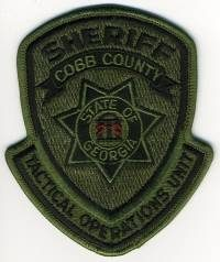 GA,A,Cobb County Sheriff SWAT005