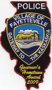 IL,Fayetteville Police001