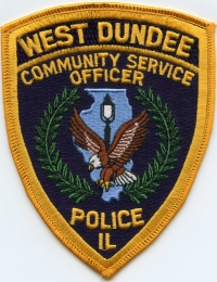 IL,West Dundee Police Community Service Officer001