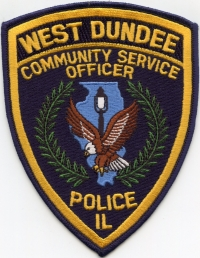 IL,West Dundee Police Community Service Officer002