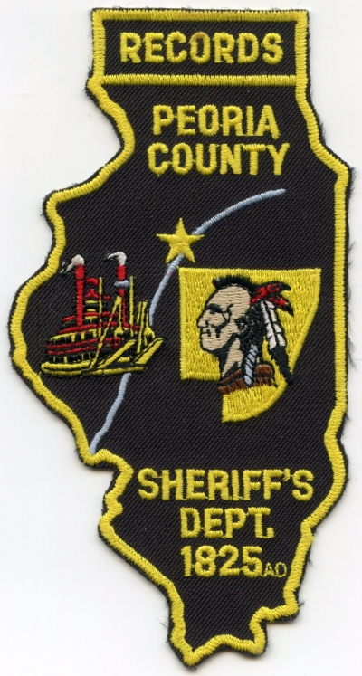 IL Peoria County Sheriff Records001