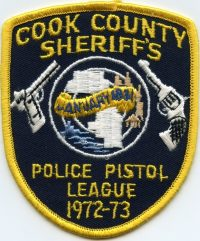 IL Cook County Sheriff Police Pistol League 1972 001