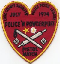 IL Cook County Sheriff Police Pistol League 1974 001