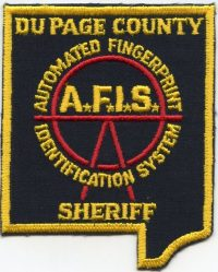 IL DuPage County Sheriff AFIS001