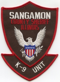 IL Sangamon County Sheriff K-9001