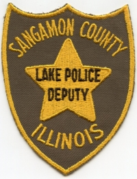 IL Sangamon County Sheriff Lake Police Deputy001