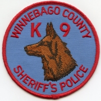 IL Winnebago County Sheriff K-9001