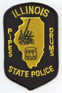 IL Illinois State Police Pipes Drums001