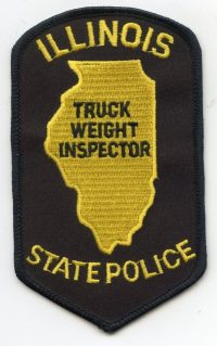 IL Illinois State Police Truck Weight Inspector001