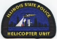 IL Illinois State Police Helicopter001