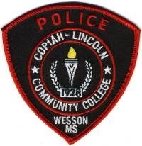 MS,Copiah Lincoln Community College Police001