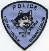 MS,Copiah Lincoln Community College Police003