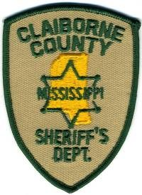 MS,A,Claiborne County Sheriff001