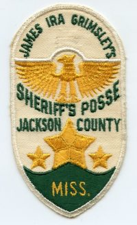 MS,A,Jackson County POSSE Sheriff001