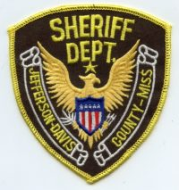 MS,A,Jefferson-Davis County Sheriff001