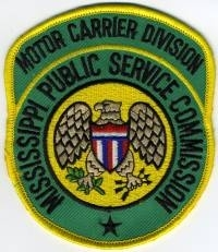 Mississippi state agencies bill charles police patch for Nevada motor carrier division