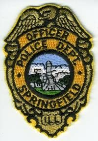 IL,SPRINGFIELD POLICE BADGE 1