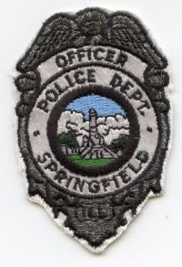 IL,SPRINGFIELD POLICE BADGE001