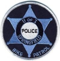 IL,UNIVERSITY OF ILLINOIS SPRINGFIELD POLICE BIKE PATROL 1