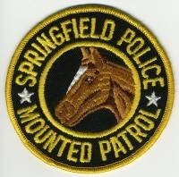 MA,SPRINGFIELD POLICE MOUNTED 1