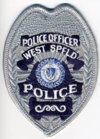 MA,WEST SPRINGFIELD POLICE BADGE 1