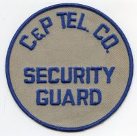SP,Chesapeake and Potomac Telephone Company Security Guard001