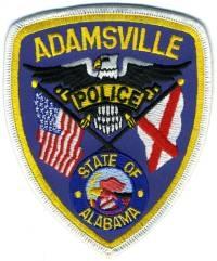AL,Adamsville Police001