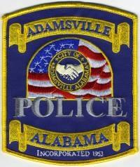 AL,Adamsville Police002